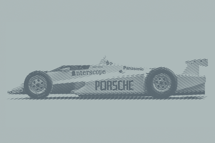 1980 Interscope Porsche Indycar