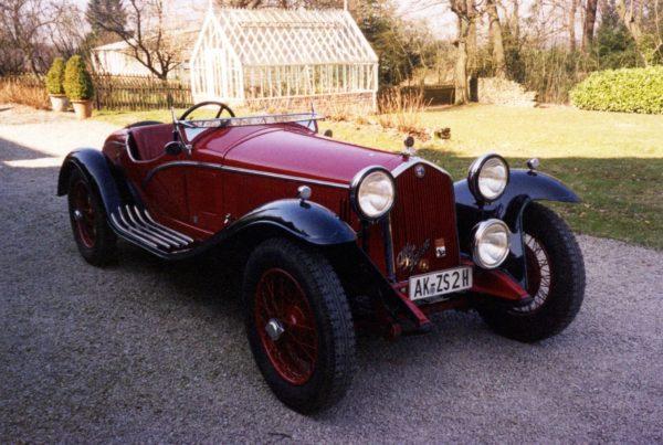 1932 Alfa Romeo 6C 1750 GS