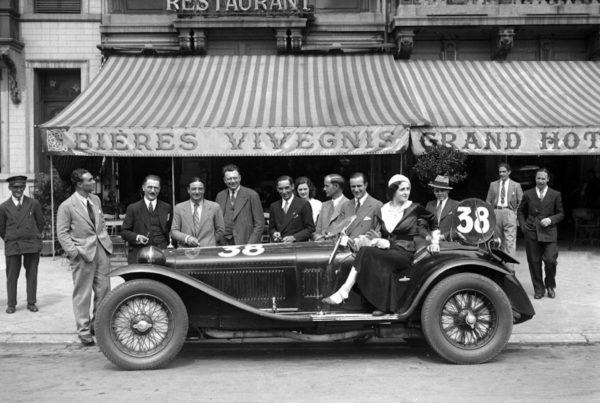 1932 Alfa Romeo 8C Zagato Spider