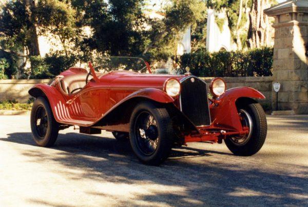1932 Alfa Romeo 8C Touring Spider