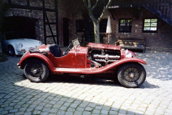 1934 Alfa Romeo 8C Touring Spider