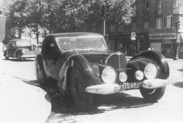 1937 Bugatti Type 57 SC Atalante Coupé